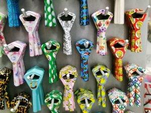 Abloy avaimia värikkäänä